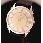 Lord Elgin 14k Diamond Mystery Dial