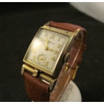 Bulova Flip top Picture watch 1950
