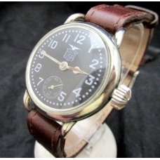 Elgin WW1 Black Star Dial Foch