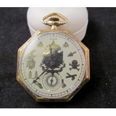 Elgin Masonic Dial Ca. 1922