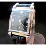 Bulova 14k Gold Swing Lug 1949